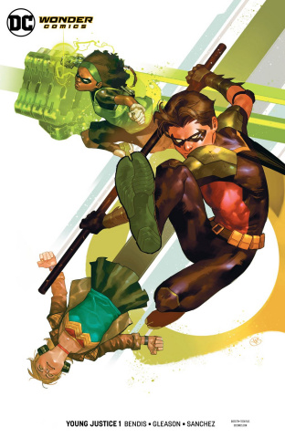 Young Justice #1 (Robin Cover)