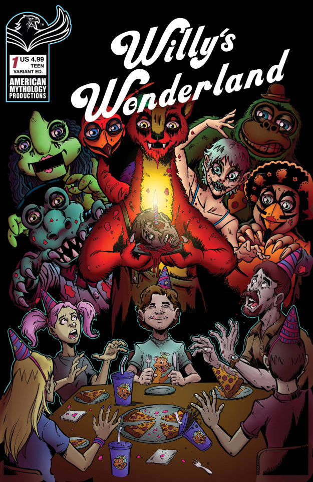 Willy's Wonderland Prequel #1 (Calzada Cover)