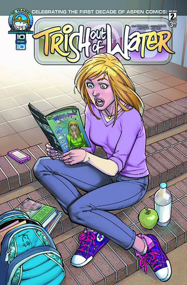 Trish Out of Water #2 (Aspen Reserved Cover)
