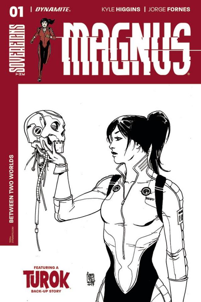Magnus #1 (30 Copy Camuncoli B&W Cover)