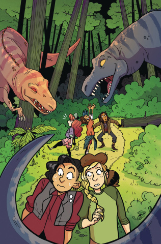 Lumberjanes #53 (Subscription Dozerdraws Cover)