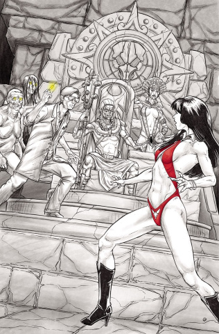 Vampirella vs. Reanimator #3 (30 Copy Cosplay Virgin Cover)