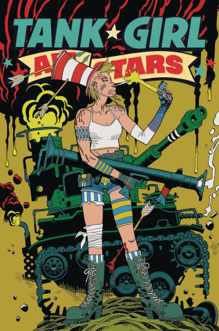 Tank Girl All Stars #4 (McMahon Cover)