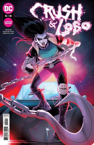 Crush & Lobo #5 (Sweeney Boo Cover)