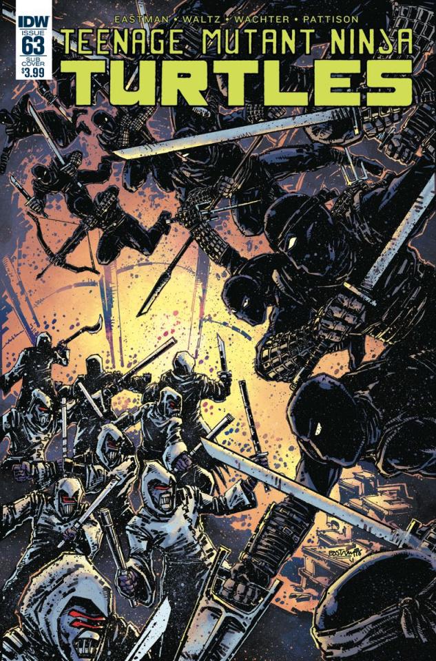 Teenage Mutant Ninja Turtles #63 (Subscription Cover)