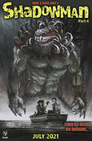 Shadowman #4 (Gimenez Cover)