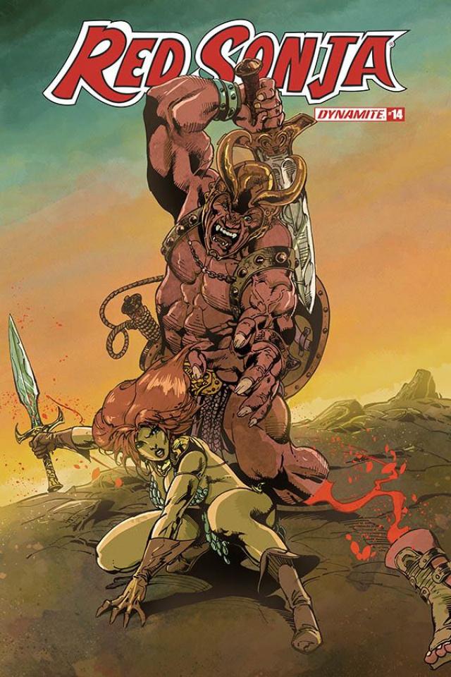 Red Sonja #14 (Castro Bonus Cover)