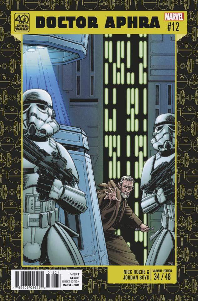 Star Wars: Doctor Aphra #12 (Roche 40th Anniversary Cover)