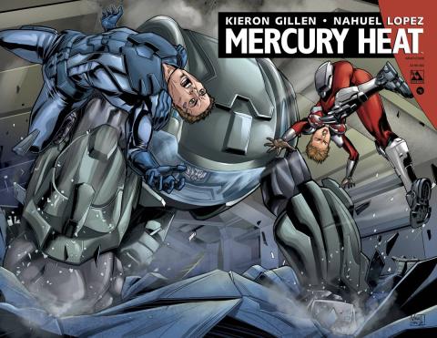 Mercury Heat #6 (Wrap Cover)