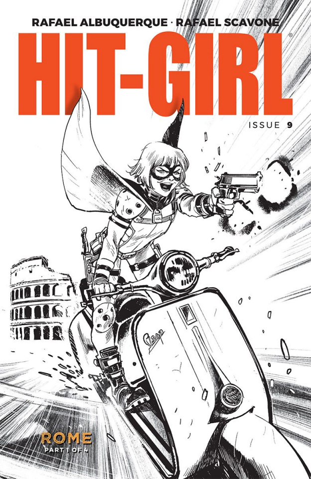 Hit-Girl #9 (Albuquerque Cover)