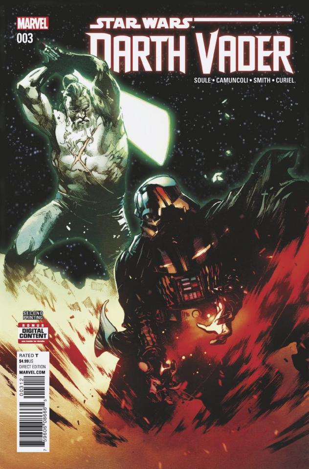 Star Wars: Darth Vader #3 (2nd Printing Coipel Cover)