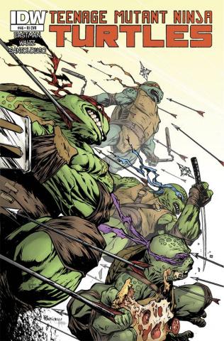 Teenage Mutant Ninja Turtles #46 (10 Copy Cover)
