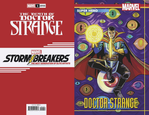 The Death of Doctor Strange #1 (Bustos Stormbreakers Cover)