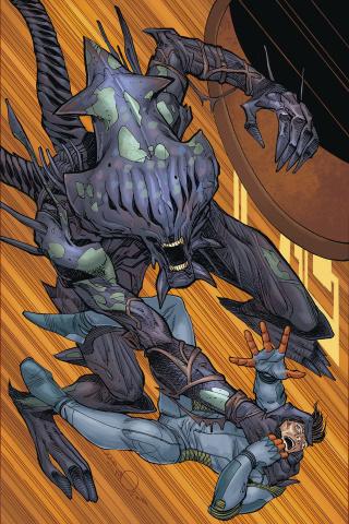 Alien: The Original Screenplay #4 (Simonson Stewart Cover)