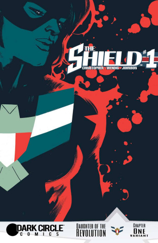 The Shield #1 (Rafael Albuquerque Cover)