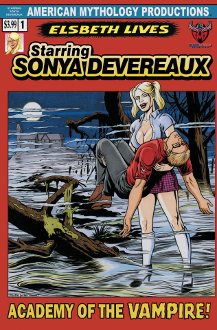 Starring Sonya Devereaux #2 (Horror Homage Cover)