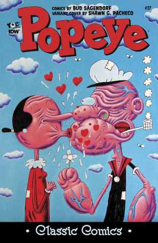 Popeye Classics #27 (10 Copy Cover)