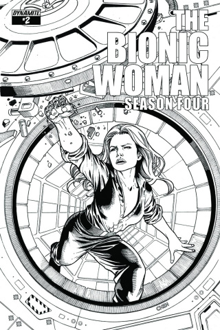 The Bionic Woman, Season Four #2 (15 Copy Chen B&W Cover)