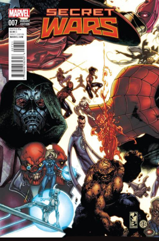 Secret Wars #7 (Bianchi Connecting Cover)