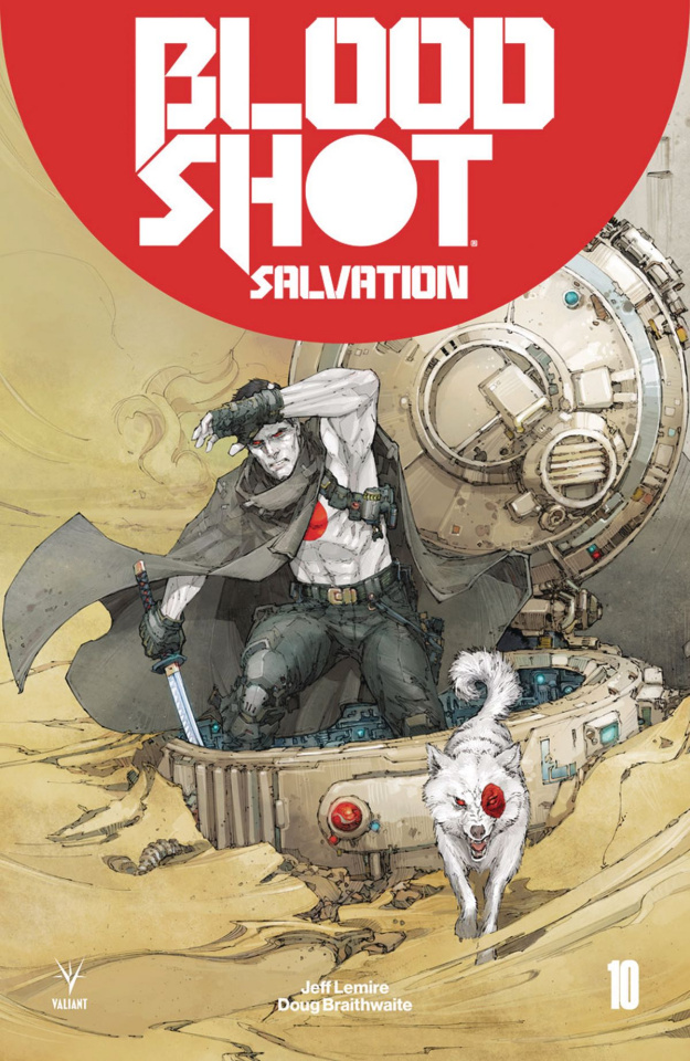 Bloodshot: Salvation #10 (Rocafort Cover)