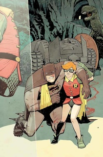 Dark Knight III: The Master Race #2 (Chiang Cover)