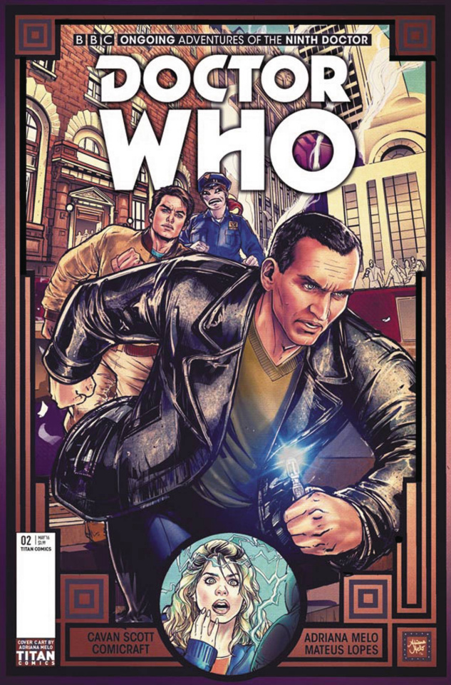 Doctor Who: New Adventures with the Ninth Doctor #2 (Melo Cover)