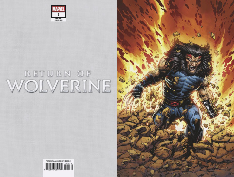 Return of Wolverine #1 (McNiven Age of Apocalypse Cover)