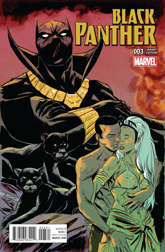 Black Panther #3 (Greene Connecting Cover)