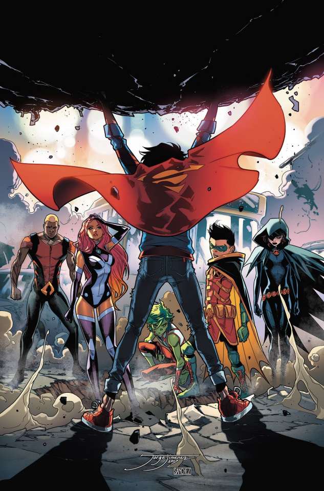 Super Sons Vol. 2: Planet of the Capes (Rebirth)