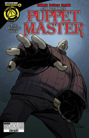 Puppet Master #1 (Pinhead Cover)