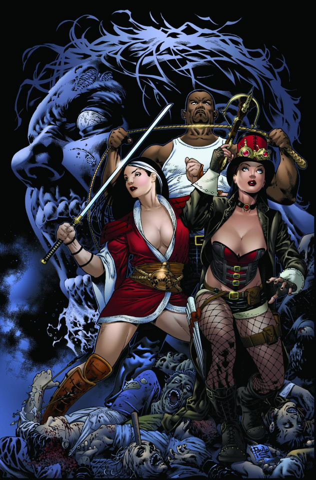 Grimm Fairy Tales: Zombies - Cursed #2 (Siqueira Cover)