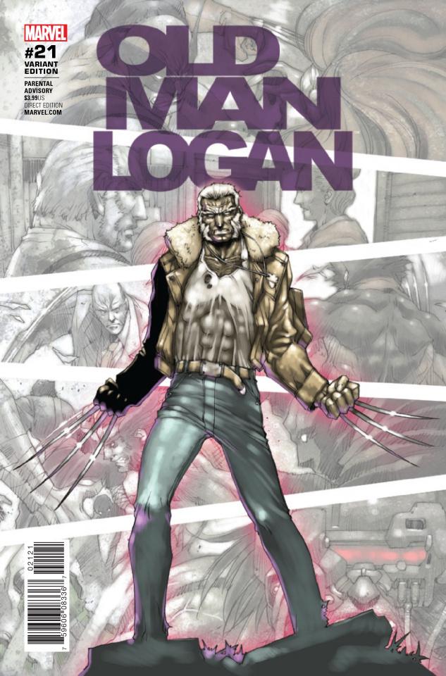 Old Man Logan #21 (Asamiya Cover)