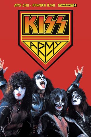 KISS #2 (Kiss Army Photo Cover)