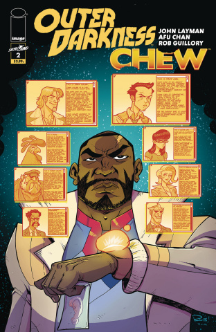 Outer Darkness / Chew #2 (Guillory Cover)