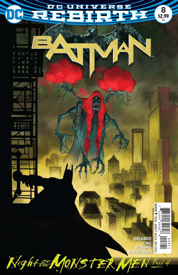 Batman #8 (Monster Men Cover)
