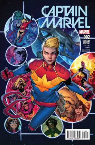 Captain Marvel #2 (Jimenez Cover)