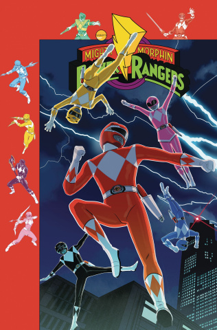 Mighty Morphin' Power Rangers #38 (Preorder Gibson Cover)