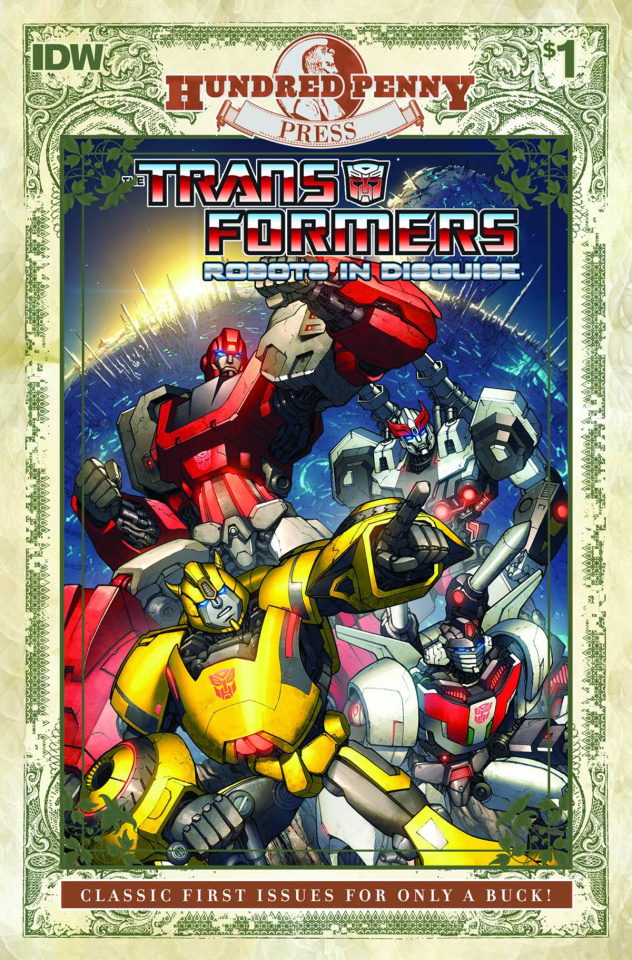 The Transformers: Robots in Disguise #1 (100 Penny Press)