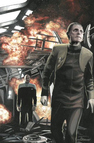 Star Trek: Deep Space Nine - Too Long A Sacrifice #1 (25 Copy Woodward Cover)
