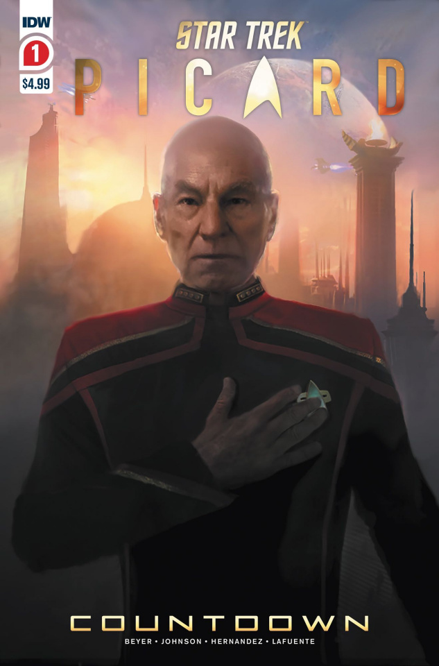 Star Trek: Picard - Countdown #1 (2nd Printing)