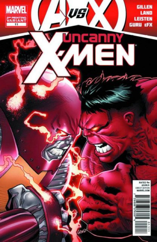 Uncanny X-Men #11 (2nd Printing)