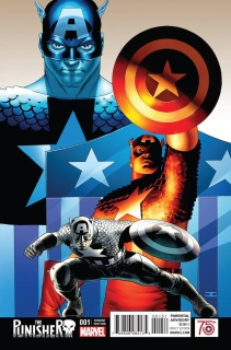 The Punisher #1 (Cassaday Captain America 75th Anniversary Cover)