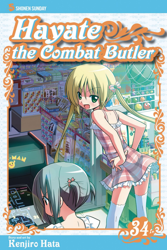 Hayate: The Combat Butler Vol. 34