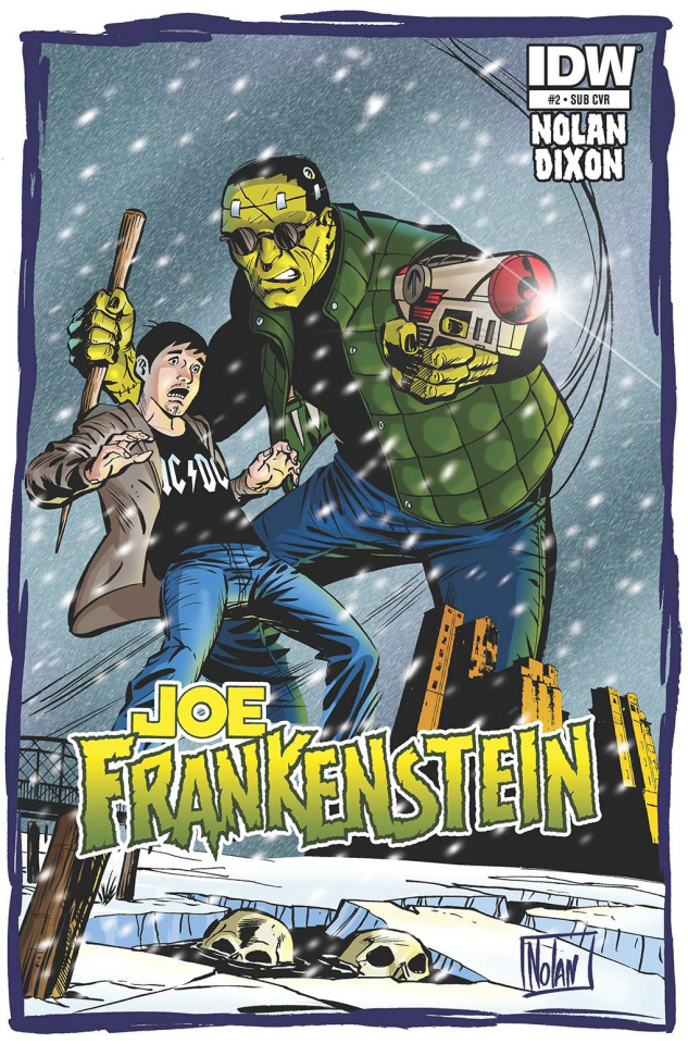 Joe Frankenstein #2 (Subscription Cover)