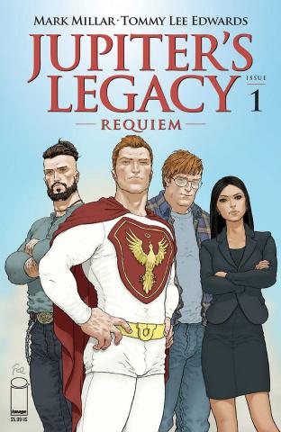 Jupiter's Legacy: Requiem #1 (Quitely Cover)