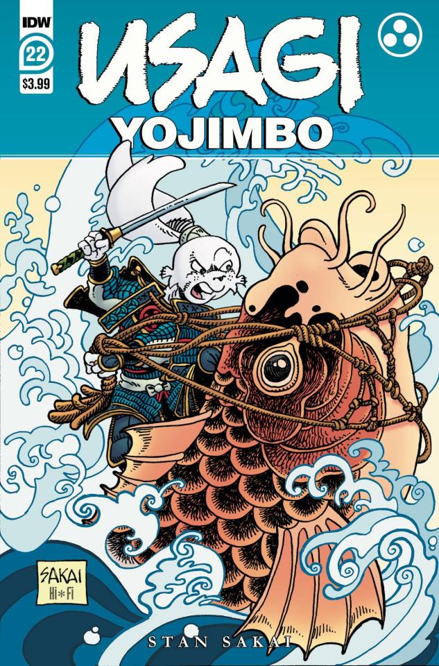 Usagi Yojimbo #22 (Sakai Cover)
