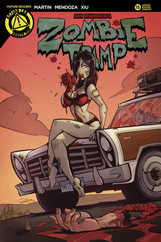 Zombie Tramp #15 (Parson Cover)
