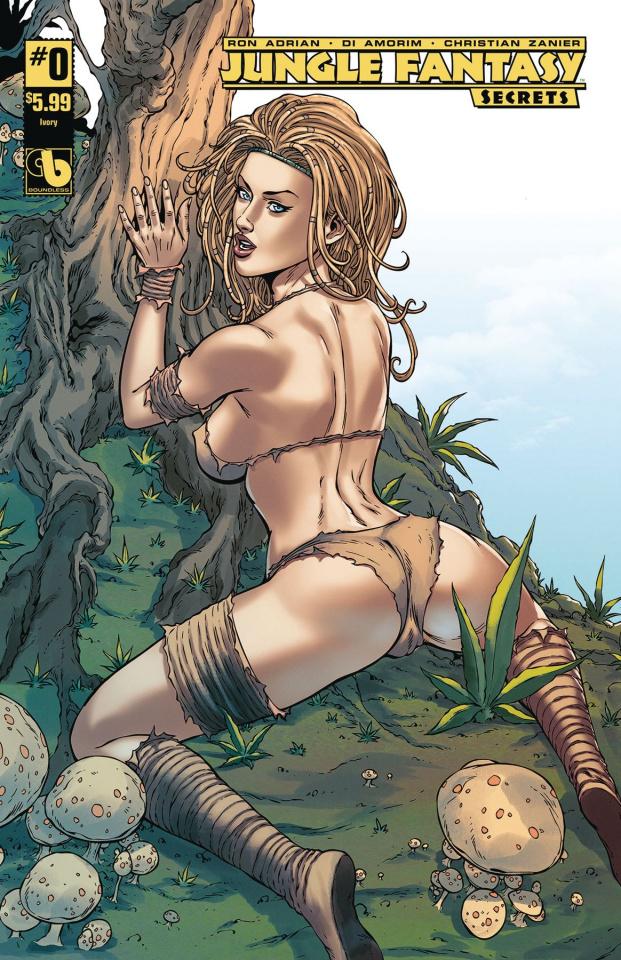 Jungle Fantasy: Secrets #0 (Ivory Cover)