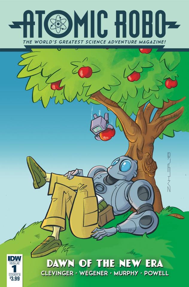 Atomic Robo: Dawn of the New Era #1 (Zahler Cover)