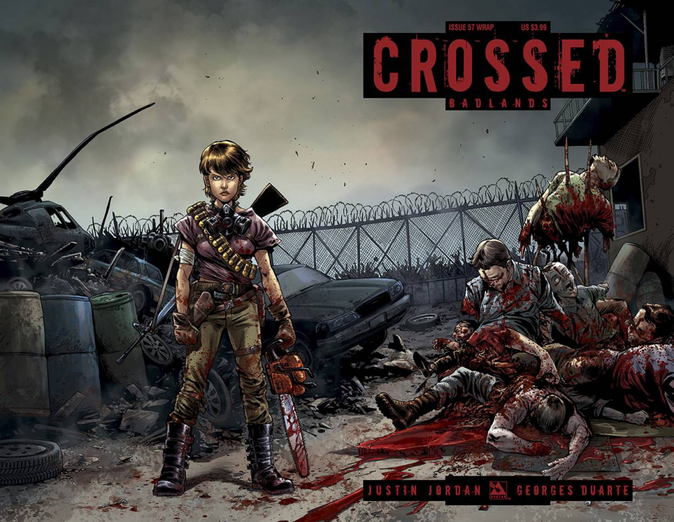 Crossed: Badlands #57 (Wrap Cover)